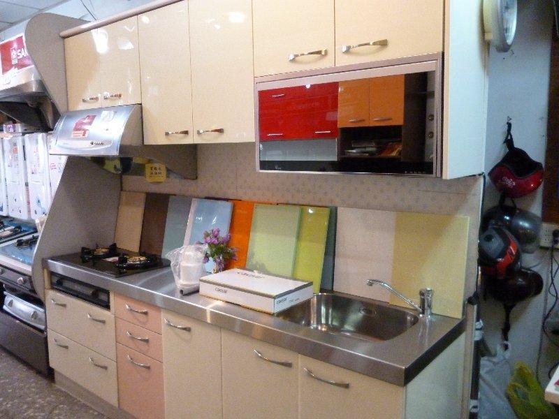 200CM超值特惠組 系統歐化廚具 不鏽鋼流理台 設計廚房設備 廚櫃 訂製流理臺
