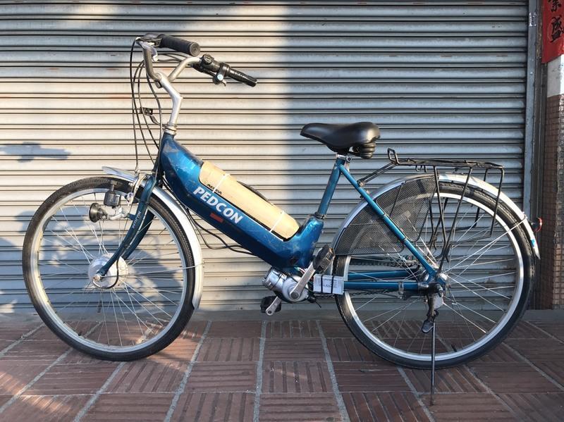 李仔哥的店 二手美利達電動車改裝電動腳踏車