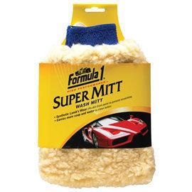 25004~美國原裝~Formula 1~纖維羊毛打臘手套~洗車手套~打蠟手套~上腊手套