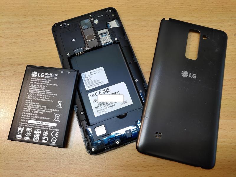 LG Stylus 2 鉑金棕 配備手寫筆 螢幕破裂【功能正常】