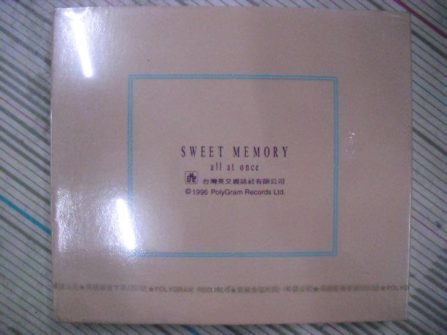 Sweet Memory-all at once