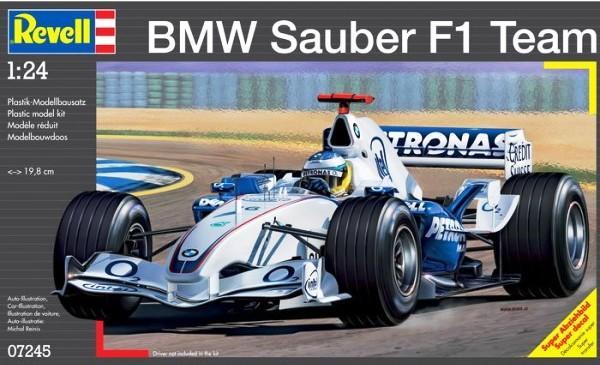 Revell 模型 型號 07245 BMW Sauber F1 Team 1/24