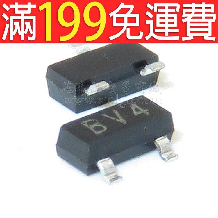 滿199免運2SB624  印絲:BV4 SOT-23 貼片 長電 貼片三極管 一盤3000個 230-00791