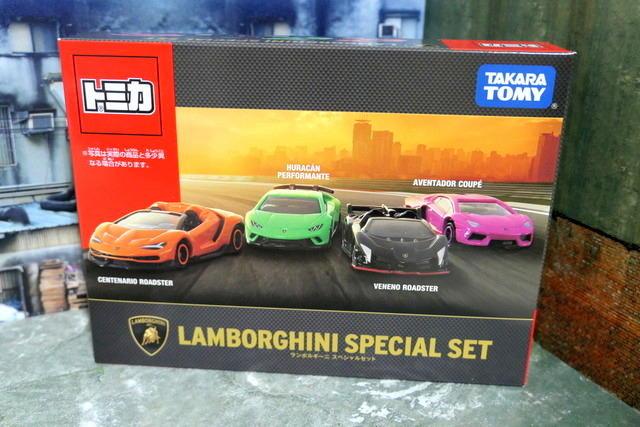 [玩具帝國] 玩具 汽車 模型 TOMICA LAMBORGHINI 藍寶堅尼 林寶堅尼  跑車組 超跑