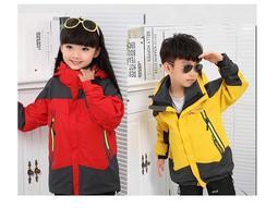 台灣現貨💥兒童機能外套💥兒童衝鋒衣 酷寒 雪衣 風衣  小朋友衣服 男童 女童 保暖抗寒  兩件套 衝鋒衣 滑雪服