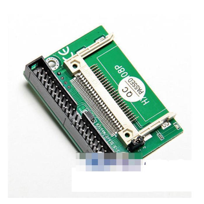 CF轉3.5寸IDE卡支援DMA40pin40針轉接頭電腦周邊電子盤液晶屏工控 w56 056 [9000152]