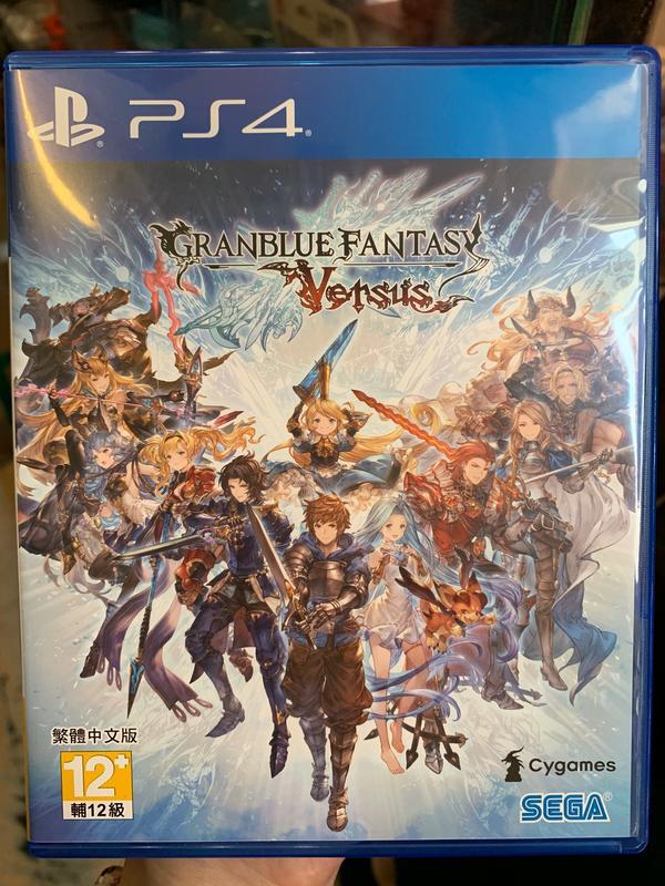 *PS4 碧藍幻想 Versus 中文版  二手*