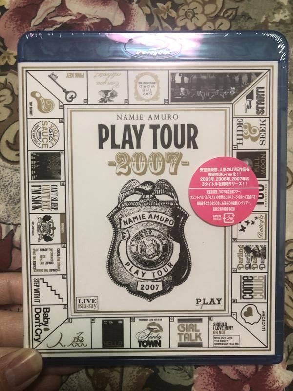 安室奈美惠 Play Tour 2007 BD 演唱會 藍光