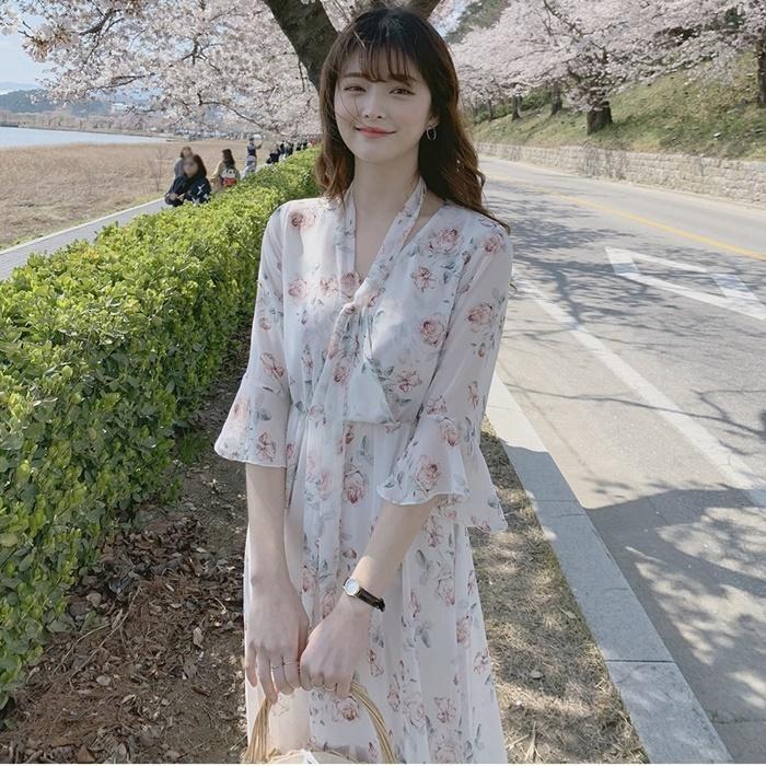 TOKYO DEPT【F8168】韓氣質雪紡.平口洋裝小洋裝小禮服洋裝韓雪紡洋裝露肩伴娘連身裙禮服絲