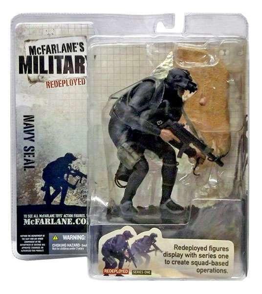 麥法蘭 Military 系列1 美國大兵 Navy Seal 海軍海豹突擊隊(Redeployed變異版)