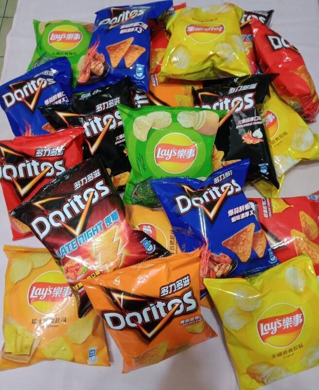 🎉超低價大包-Lays樂事洋芋片及Doritos多力多滋玉米片共8種口味任選混搭(18包整箱寄出)8包以上即可出貨
