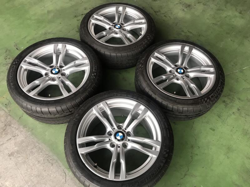 BMW 441M 18吋M版銀色鋁圈含米其林PSS胎 F30 F31 F34