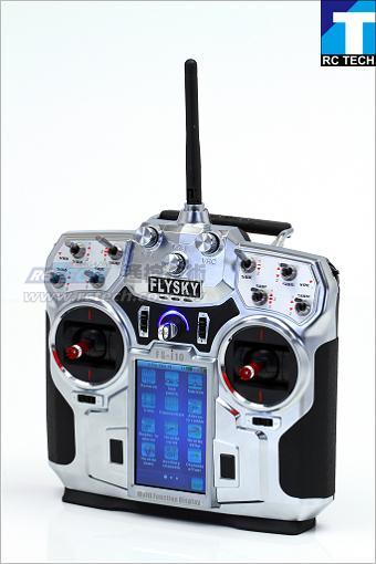 《壹模型》FLYSKY FS-i10,飛行用10動作遙控器