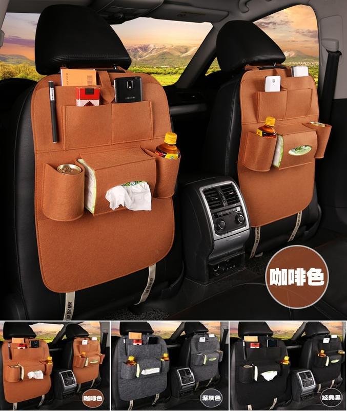 汽車椅背收納袋 置物袋 掛袋 椅背袋