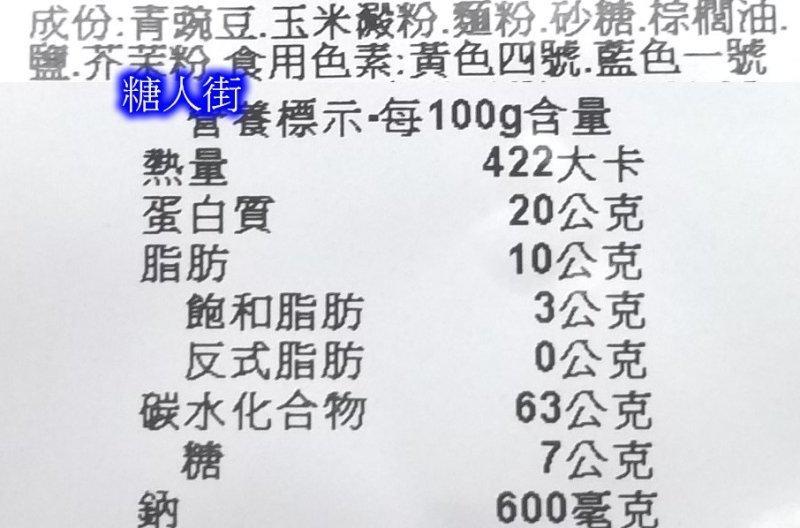 【糖人街】來新香脆芥茉豆  零售300公克60元 600公克115元 批發1800公克320元