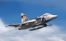 瑞典 獅鷲戰鬥機 性能優異 外銷全球多國使用 1/72 JAS 39 Gripen #1306