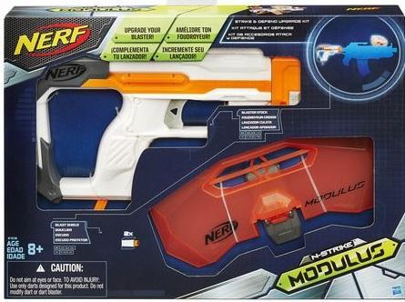 湯圓嬉遊趣 NERF-自由模組系列-攻擊防衛套件 全館滿2000元免運
