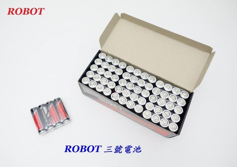《意生》【4顆裝】ROBOT 3號電池 三號電池 碳鋅電池 1.5V 環保電池 3號碳鋅電池AA電池 乾電池 非充電電池