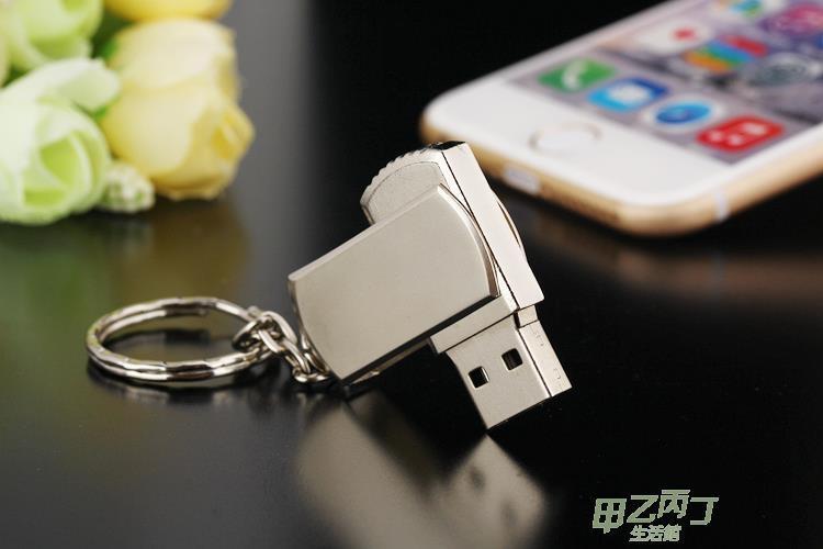 隨身碟三用 手機筆電車載隨身碟128g 創意個性隨身碟128g 防水隨身碟--優的館
