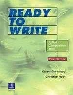 《Ready to Write: A First Composition Text》ISBN:0130424633│Prentice Hall│Karen Blanchard, Christine Root│七成新