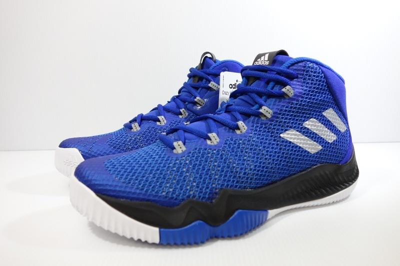 timeless design 68f14 077df 小綿羊 5折ADIDAS CRAZY HUSTLE J 藍黑BW0511 愛迪達女生大童籃球鞋