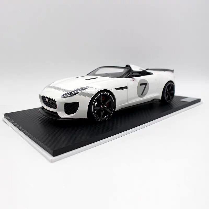 需預訂 原廠精品 Topspeed TSM jaguar f-type project 7  1:18 1/18