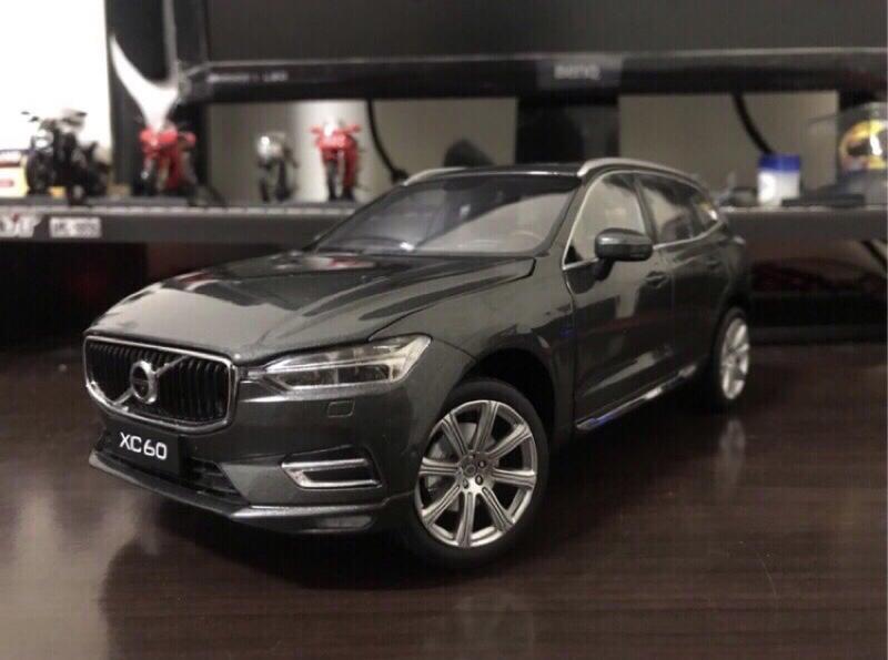 【E.M.C】1:18 1/18 原廠 Volvo XC60 豪華版 金屬模型車