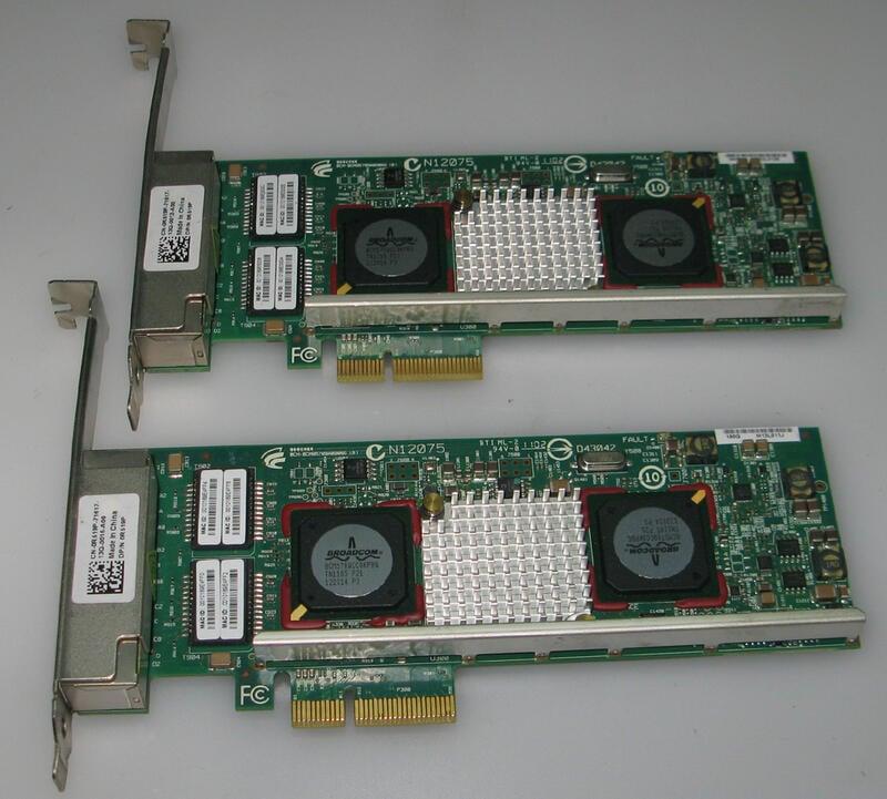 【Monster】 Dell R519P Broadcom Netxtreme Ii 5709 Gigabit Quad