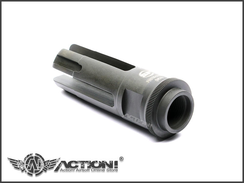 【ACTION!】Z-Parts - SF樣式 FH556-215A 鋼製四叉防火帽(027)《現貨》