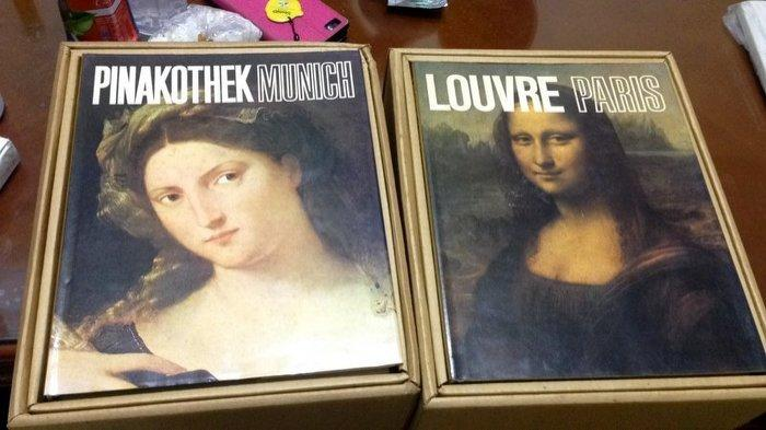 世界美術館全集。全15冊。附紙盒。光復書局 .購買請先發問
