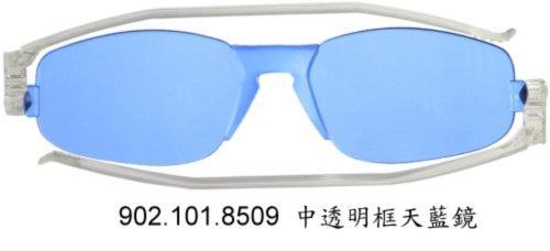 義大利名牌 摺疊型 太陽眼鏡 Nannini Solemino 2 天藍色鏡片(降價囉!)