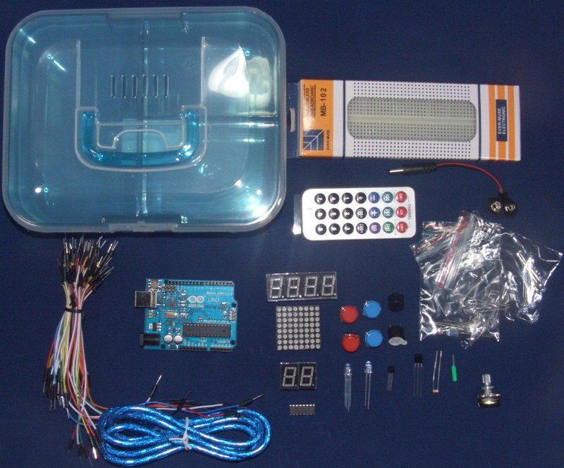 [現貨] Arduino入門套件基本版 配1.5米USB線 提供詳細視頻教程 CHIP變更 請詳閱說明