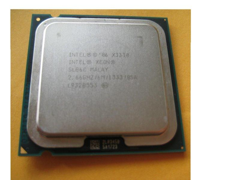 {正式版}~Intel Xeon X3330 / 2.66G/ 6M/ 1333/ , 四核CPU~誠可議價!