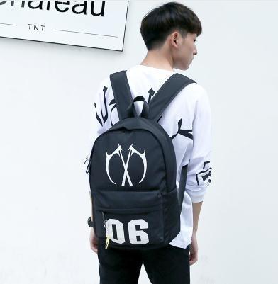 青少年書包高中學生後背包正韓時尚休閒旅行包潮男帆布背包電腦包 免運