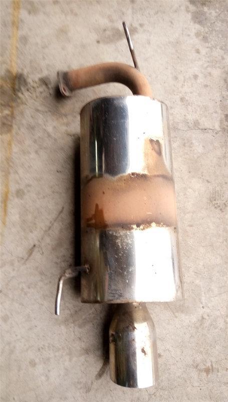 達成拍賣 ACCORD K9 有牌子可拔消音塞 改裝白鐵 排氣管 砲管 尾段 後尾消 消音器 後段 後消 各式機汽車均有