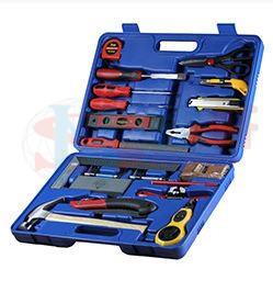 紐軒20件套木工工具箱,高中通用技術實驗室教學設備