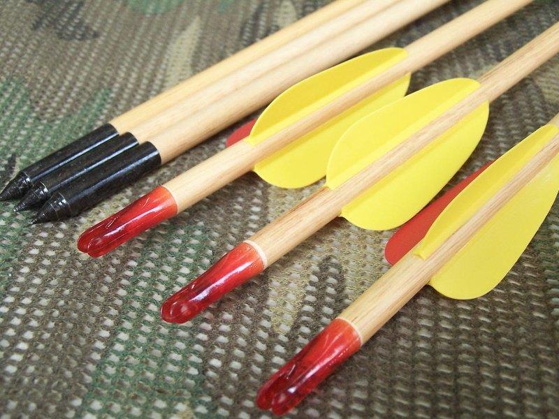 """(新)29""""練習木箭.50支入-1500免運費.複合弓.獵弓.反曲弓.練習弓...等適用 )*弓箭、射箭用品*"""
