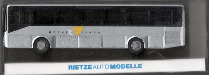 "HO 1/87 Rietze 63715 Irisbus Ares ""Röpke, Bredstedt"" 公車模型"