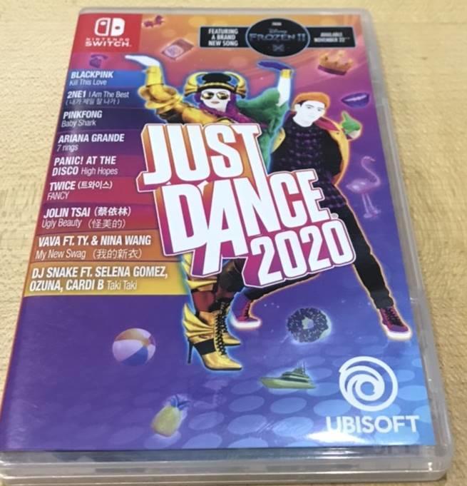 中古 NS Switch Just Dance 舞力全開 2020 中文版