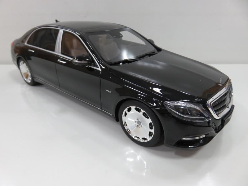 宗鑫 GT SPIRIT GT162 Mercedes Maybach S600 曜石黑