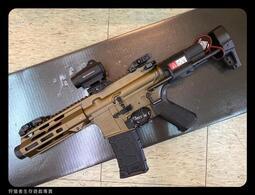 【狩獵者生存專賣】VFC AVALON CALIBUR II PDW 全金屬-電動長槍-沙色-附維特T1內紅點優惠版