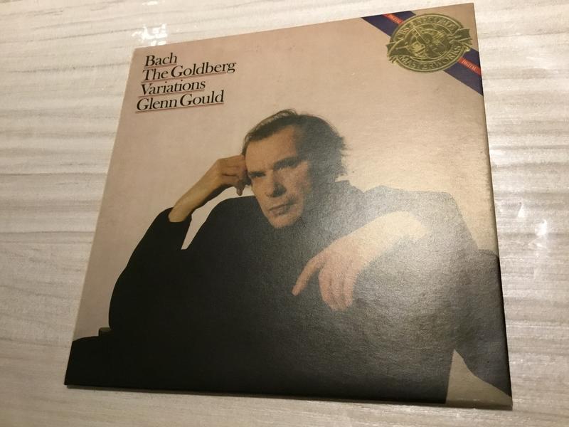 [CD] 含運 250 glenn gould play J.S. Bach Goldberg variations