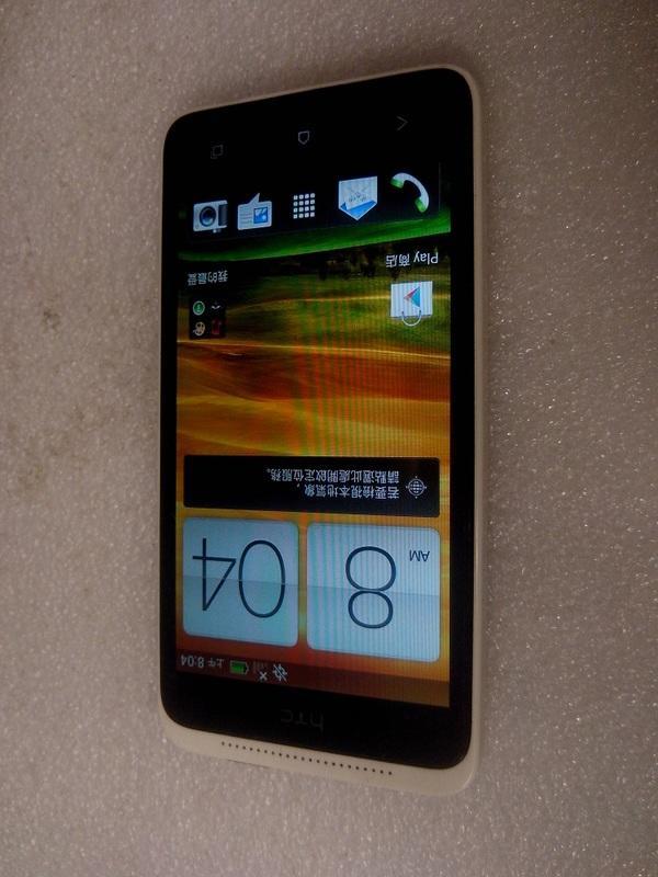 二手HTC One SC T528d  智慧型手機(初步測試可以開機狀況如圖當測試報帳機)