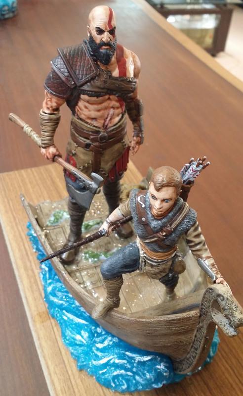 [Roadies]電玩遊戲God of War,Kratos和兒子Artius,3D列印