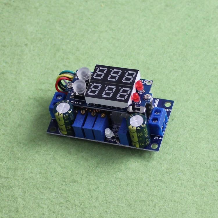 [已含稅]MPPT 5A太陽能控制器  DC-DC降壓模組 帶數顯 恒壓恒流 (C3A3)