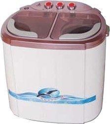 【山豬的店】ZANWA晶華2.5KG即時洗節能雙槽洗滌機 (ZW-218S)