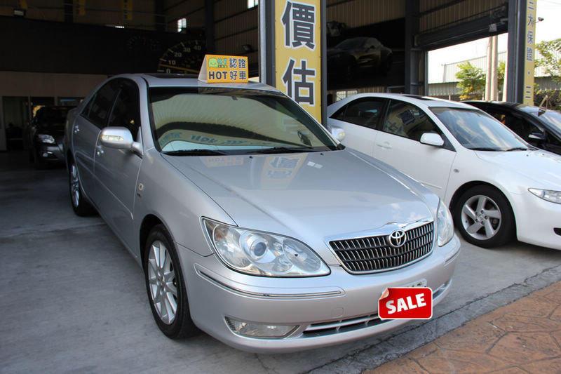 2005年 CAMRY 2.0 S版  認證車 全額貸 送保固