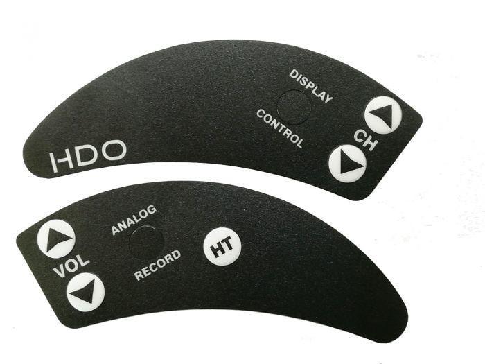 DKCK~肥鯊眼鏡FatShark 按鍵貼紙 黑色 HD3/HDO