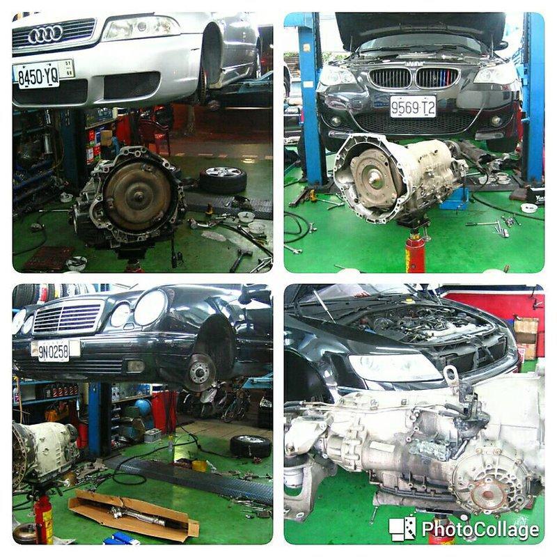 賓士 BENZ 變速箱整理維修 W245 W246 B170 B180 B200T CDI W168 W176 A160 A180 A190 A200 A250 722.6 722.9