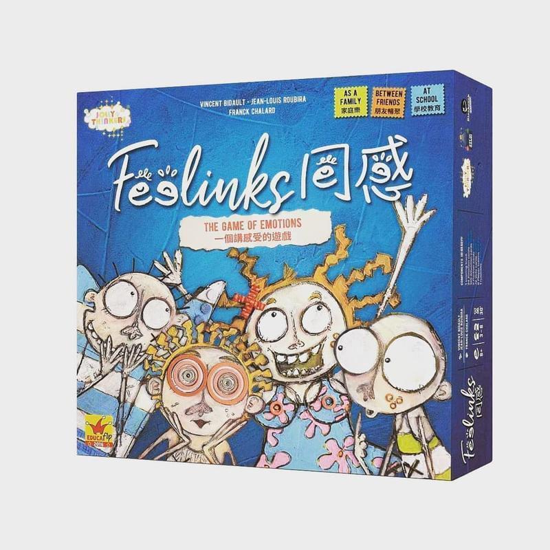 正版全新【小海豚正版桌遊趣】同感 Feelinks 繁體中文版 正版 同理心 說書人作者新作